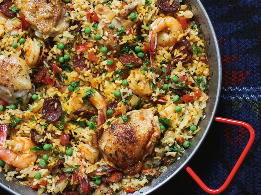 Paella Chicken and Chorizo by...