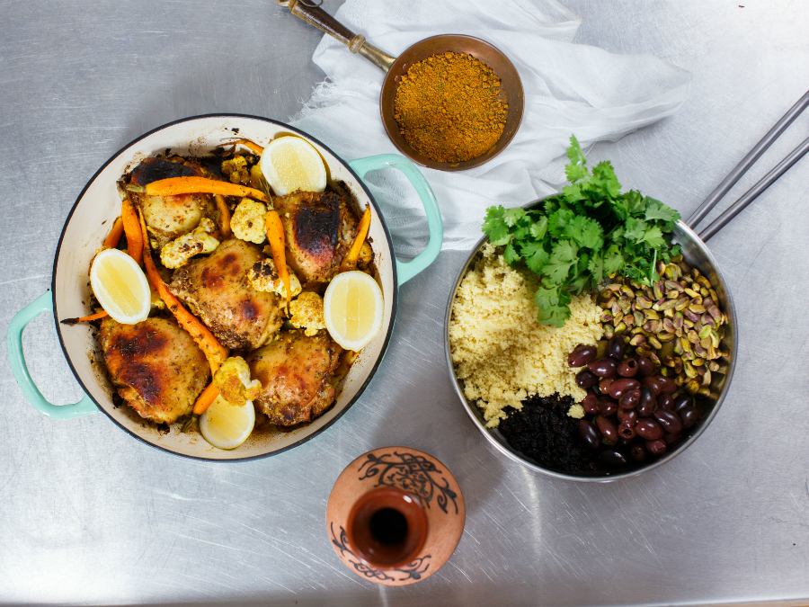 Spiced Moroccan Chicken by Miguel...