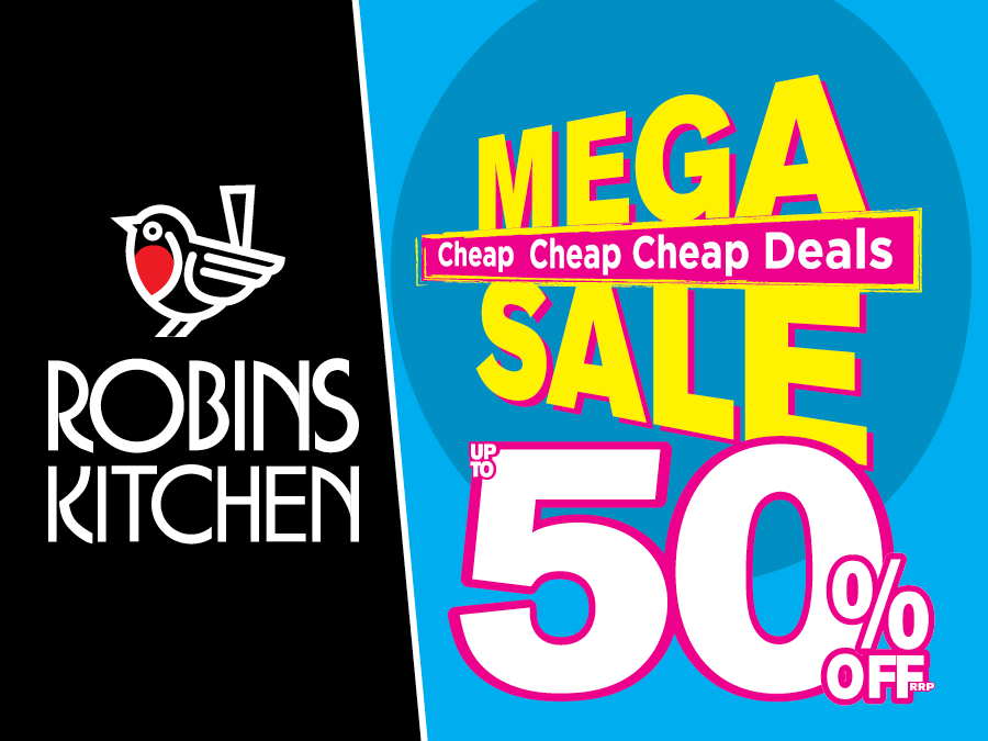 Robins Kitchen Mega Sale