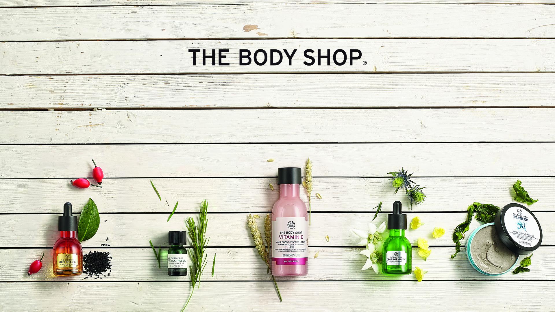 The Body Shop | Cosmetics & Fragrances | Health & Personal