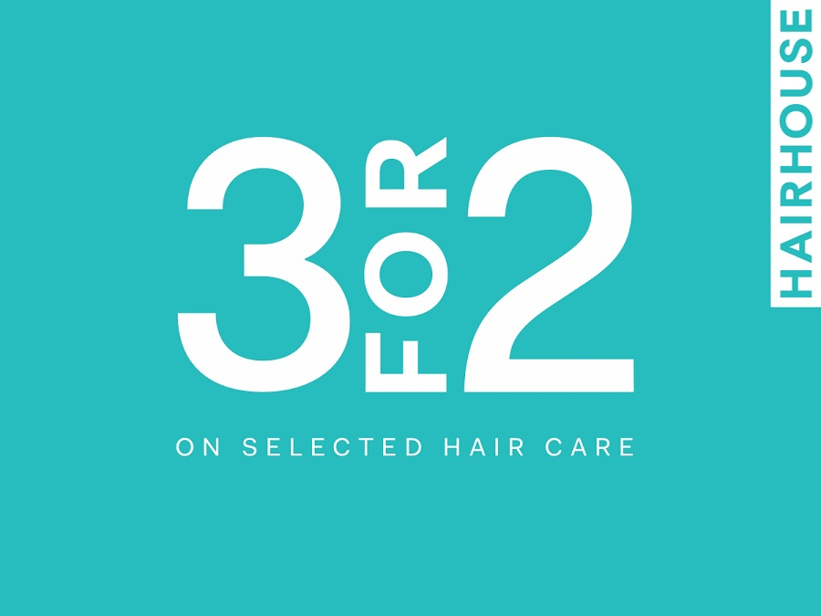3 for 2 Hair Care