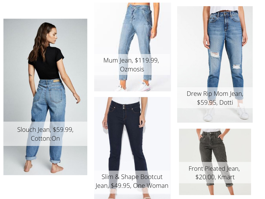 Why the mum jean is the most popular fashion staple right now